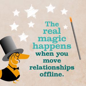 move relationship offline